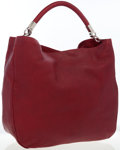 Luxury Accessories:Bags, Yves Saint Laurent Red Leather Roady Hobo Bag. ...