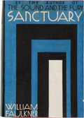 Books:Literature 1900-up, William Faulkner. Sanctuary. New York: Jonathan Cape &Harrison Smith, 1931. First edition, first printing with patt...