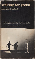 Books:Literature 1900-up, Samuel Beckett. Waiting for Godot. Tragicomedy in 2acts. New York: Grove Press, [1954]. First edition of this l...