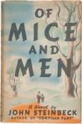 Books:Literature 1900-up, John Steinbeck. Of Mice and Men. New York: Covici Friede,[1937]. First edition, first printing. ...