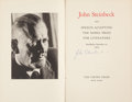 Books:Literature 1900-up, John Steinbeck. Speech Accepting the Nobel Prize in LiteratureStockholm, December 10, 1962. New York: The Viking Pr...