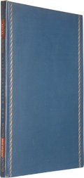 "Books:Literature 1900-up, W. B. Yeats. The Winding Stair. New York: The FountainPress, 1929. First edition, one of 600 copies (""420"") signe..."