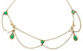 Estate Jewelry:Necklaces, Jadeite, Cultured Freshwater Pearl, Gold Necklace. ...