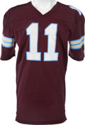 Football Collectibles:Uniforms, 1983-84 Bobby Hebert Game Worn USFL Michigan Panthers Jersey. ...