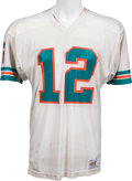 Football Collectibles:Uniforms, 1978-80 Bob Griese Game Worn Miami Dolphins Jersey, MEARS A10....