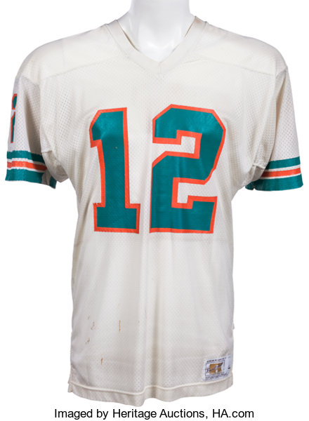 07691d613 1978-80 Bob Griese Game Worn Miami Dolphins Jersey