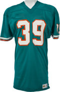Football Collectibles:Uniforms, 1973-74 Larry Csonka Game Worn Miami Dolphins Jersey....