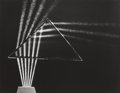 Photographs:Gelatin Silver, BERENICE ABBOTT (American, 1898-1991). Light Through Prism,1958. Gelatin silver, printed later. 10-3/8 x 13-3/8 inches ...