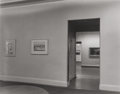 Photographs:Gelatin Silver, BERENICE ABBOTT (American, 1898-1991). Whitney Museum Interior, 1947. Early gelatin silver. 7-3/8 x 9-3/8 inches (18.7 x...