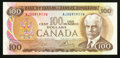 Canadian Currency: , BC-52bA $100 1975 Replacement Note. ...