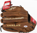 "Baseball Collectibles:Others, Frank Robinson ""Gold Glove"" Signed Glove...."