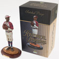"Baseball Collectibles:Others, 2004 Upper Deck ""Historical Beginnings"" Negro League Satchell Paige. ..."
