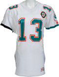 Football Collectibles:Uniforms, 1990 Dan Marino Game Worn Miami Dolphins Jersey, MEARS A10....