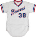 Baseball Collectibles:Uniforms, 1981 Vince DiMaggio Game Worn Old Timer's Game Jersey....