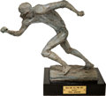 Football Collectibles:Others, 1971 NEA-CBS All-Pro Trophy - Paul Krause Collection....