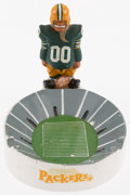 Football Collectibles:Others, 1960's Green Bay Packers Kail Statue Ashtray. ...
