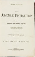 Books:Periodicals, [Bound Periodical]. The Juvenile Instructor, Vol. XXXIII, Nos.1-20. Salt Lake City: George Q. Cannon, January - Oct...
