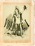 Books:Periodicals, [Bound Periodical]. The Tomahawk: A Saturday Journal of Satire, Vols. I & II. London: Office of the Tomahawk, 1867, ... (Total: 2 Items)