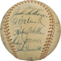 Autographs:Baseballs, 1955 Brooklyn Dodgers Team Signed Baseball. ...