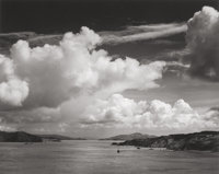 ANSEL ADAMS (American, 1902-1984) Golden Gate Before the Bridge, 1932 Gelatin silver, printed circa