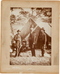Photography:Cabinet Photos, Abraham Lincoln at Antietam Second Generation MountedPhotograph....