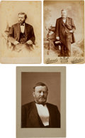 Photography:Cabinet Photos, Ulysses S. Grant: Group of Three Cabinet Cards....