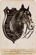Photography:Cabinet Photos, Old Baldy: General George G. Meade's Horse Cabinet Card....