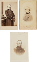 Photography:CDVs, Henry Halleck: Three Cartes de Visite....