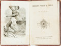Books:Biography & Memoir, [Slavery]. A.L.O.E. Bought with a Price. New York: AmericanTract Society, [n.d., ca. 1800s]. No edition stated. Eig...