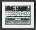 Autographs:Photos, 1951 New York Yankees Team Signed Photograph....