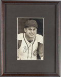 Autographs:Photos, Early 1940's Jimmie Foxx Signed Photograph....