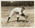 Autographs:Photos, Circa 1937 Tony Lazzeri Signed Type 1 Photograph....