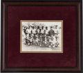 Baseball Collectibles:Photos, 1934 Babe Ruth, Lou Gehrig & Others Tour of Japan Type 1 NewsPhotograph....