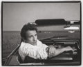 Photographs, ANNIE LEIBOVITZ (American, b. 1949). Bruce Springsteen, Asbury Park, New Jersey, 1987. Platinum. 12-1/2 x 15-1/2 inches ...