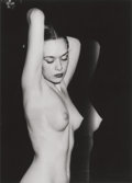 Photographs:Gelatin Silver, WEEGEE (American, 1899-1968). Untitled (Nude), circa 1950.Vintage gelatin silver. 8 x 5-3/8 inches (20.3 x 13.6 cm). Ar...