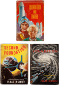 Books:Science Fiction & Fantasy, Isaac Asimov. The Foundation Trilogy, including: Foundation;Foundation and Empire; Second Foundation. Garden City: ...(Total: 3 Items)