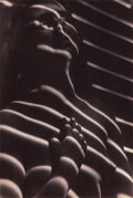 Photographs, BOHUMIL STASTNY (Czechoslovakian, 1905-1991). Nude, 1947. Vintage toned gelatin silver. 11-1/4 x 8-7/8 inches (28.6 x 22...