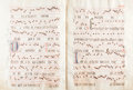 Books:Manuscripts, Antiphonal. Manuscript in Latin. [N.p. (Spain?): n.d. (16thcentury?)]....