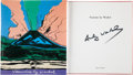 Books:Art & Architecture, Andy Warhol. Vesuvius by Warhol. [Naples]: Electa Napoli,[1985]. First edition. Signed by Warhol on the title-p...