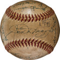 Autographs:Baseballs, 1948 Joe DiMaggio, Stan Musial & Others Multi Signed Baseball....