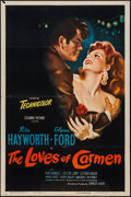 """Movie Posters:Drama, The Loves of Carmen (Columbia, 1948). One Sheet (27"""" X 41""""). Drama.. ..."""