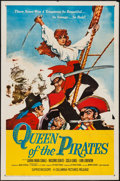 """Movie Posters:Adventure, Queen of the Pirates (Columbia, 1961). One Sheet (27"""" X 41"""").Adventure.. ..."""