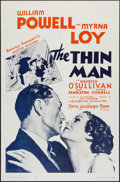 """Movie Posters:Mystery, The Thin Man (MGM, R-1962). One Sheet (27"""" X 41""""). Mystery.. ..."""