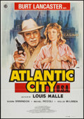 "Movie Posters:Crime, Atlantic City (Paramount, 1981). Spanish One Sheet (27.5"" X 39.5""). Crime.. ..."