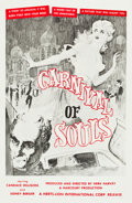 """Movie Posters:Horror, Carnival of Souls (Herts-Lion International, 1962). One Sheet (27""""X 41.25"""").. ..."""