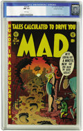 Golden Age (1938-1955):Humor, Mad #8 Gaines File pedigree 3/12 (EC, 1953) CGC NM 9.4 White pages. Even other Gaines File Copies don't get better than this...