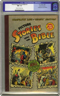 Golden Age (1938-1955):Religious, Picture Stories from the Bible #nn Complete Life of Christ - GainesFile pedigree (EC, 1945) CGC NM+ 9.6 Cream to off-white pa...