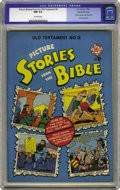 Golden Age (1938-1955):Religious, Picture Stories from the Bible Old Testament Edition #2 Gaines File pedigree 4/12 (EC, 1946) CGC NM 9.4 Off-white pages. Thi...
