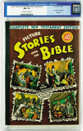 Golden Age (1938-1955):Religious, Picture Stories from the Bible Complete New Testament Edition - 40-Cent Cover (EC, 1945) CGC NM+ 9.6 Off-white to white pages....