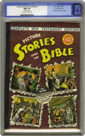 Golden Age (1938-1955):Religious, Picture Stories from the Bible Complete New Testament Edition -40-Cent Cover - Gaines File pedigree (EC, 1946) CGC NM+ 9.6 Of...